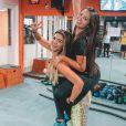 Suzanna Freitas revelou que a mãe, Kelly Key, aprovou a relação com o namorado