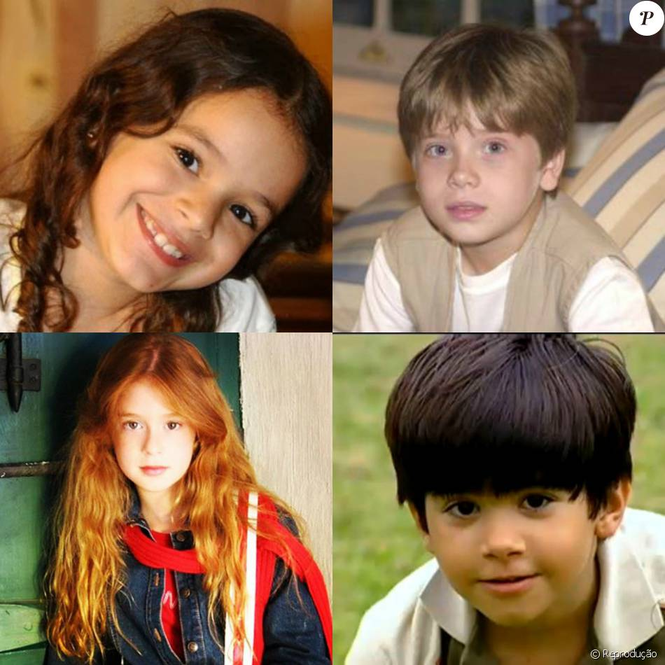Bruna Marquezine, Pedro Malta, Marina Rui Barbosa e Victor Cugula começaram cedo na TV