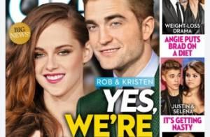 Kristen Stewart e Robert Pattinson: atriz está grávida, afirma revista americana