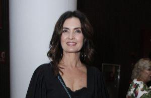 Grávida do 1º filho, Luiza Possi é tietada por Fátima Bernardes em show. Fotos!