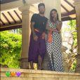 Pedro Scooby compartilha foto com Anitta durante viagem por Bali, na Indonésia