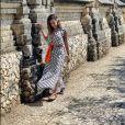 Anitta visita pontos turíscos com Pedro Scooby durante viagem por Bali, na Indonésia