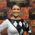 Sandra Annenberg foi eleita a Melhor Apresentadora de Telejornal pelo Troféu Imprensa