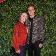 Larissa Manoela comemora chegada de Leo Cidade após temporada no exterior: ' Ele veio do Marrocos direto para esse evento'