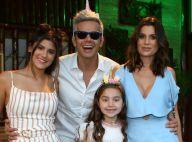 Flávia Alessandra se emociona ao ganhar surpresa das filhas em aniversário