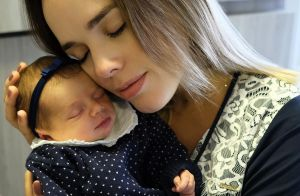Thaeme revela situação constrangedora que viveu em médico com a filha: 'Xixi'