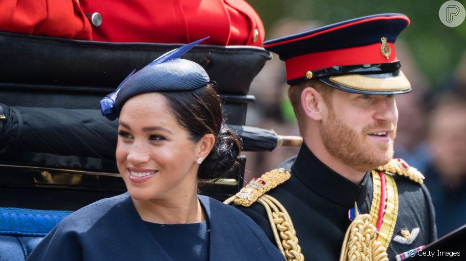 Meghan Markle esbanjou elegância em primeiro evento após o nascimento do filho, Archie, de 1 mês, neste sábado, 8 de junho de 2019