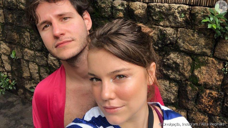 Alice Wegmann tomou iniciativa em namoro com chef de cozinha  Miguel Ribas Gastal : 'Eu que pedi'