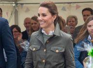 Princesas usam coturno! Kate Middleton elege moda militar utilitária em evento