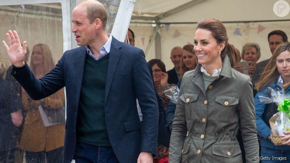 Kate Middleton aposta em look com vibe militar para evento em  Cumbria, no Reino Unido, nesta terça-feira, dia 11 de junho de 2019