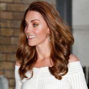 Kate Middleton repete vestido de brasileira e é comparada à Cinderela por sapato