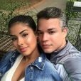 Munik Nunes  caiu em pegadinha do marido,  Anderson Felício