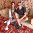 Casada com  Anderson Felício,  Munik Nunes  colocou um fim nas especulações de que estaria solteira