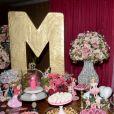 A decoração inspirada na Barbie foi feita pela empresa Vivo Desejo, cardápio assinado pelo renomado chef Noslen Przybycz e atração comandada por MC Mirella ao lado de outros amigos Mcs