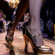 Os sapatos em alta no inverno 2019: modelo mary jane na passarela de Michael Kors