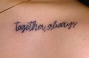 Namorada de Rafael Miguel faz tatuagem em homenagem ao ator: 'Juntos, sempre'