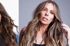 Adriane Galisteu muda o visual e exibe cabelo iluminado: 'Voltando a ser loira'