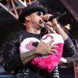 'É muito punk trabalhar quando se recebe notícia ruim, drástica', lamentou Leo Santana