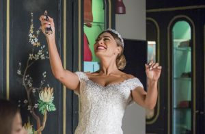 'A Dona do Pedaço': Maria cai em golpe da filha e se casa com Régis. Fotos!