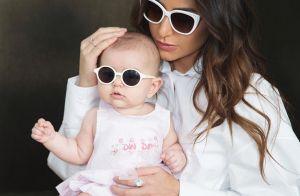 Sabrina Sato curte piscina de hotel com filha, Zoe: 'Primeira férias juntinhas'