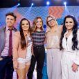 Marilia Mendonça, Maraisa e Maiara se divertem com coincidência fashion em show neste domingo, dia 14 de julho de 2019