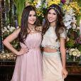 Maisa Silva, de Gêmeos, e Fernanda Concon, de Câncer, são amigas desde a infância: a geminiana incentiva a canceriana a ser mais livre e espontânea e, por outro lado, pode ganhar mais sensibilidade e um que romântico.