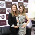 Fernanda Rodrigues e Sandy são amigas de longa data: a apresentadora é libriana e Sandy, aquariana. Os dois signos são do elemento ar.