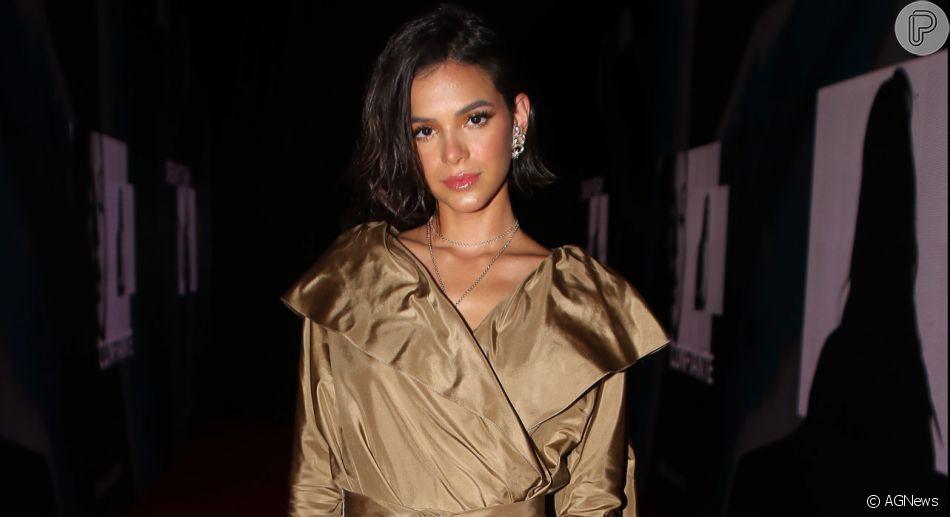 Bruna Marquezine nega encontro com Younes Bendjima por app de namoro, mas admite: 'Já tive'