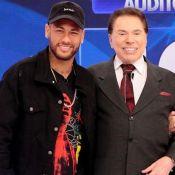 Patricia Abravanel mostra foto com Neymar e entrega: 'Tietagem foi grande mesmo'