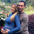 Cesar Tralli comemorou a chegada da filha, Manuella, fruto da união com Ticiane Pinheiro