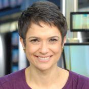 Sandra Annenberg manda recado para Tralli: 'Parabéns pela chegada da Manuzinha'