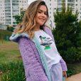 ' É para parabenizar esse serviço. A gente fica muito desacreditado no Brasil', vibrou Maisa Silva