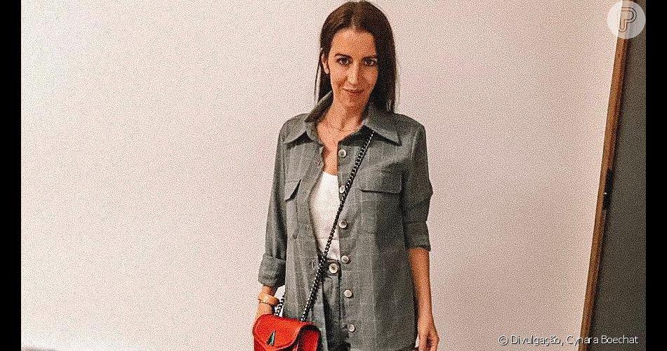 A stylist Cynara Boechat detalhou look usado por  Pattie Mallette, mãe de Justin Bieber