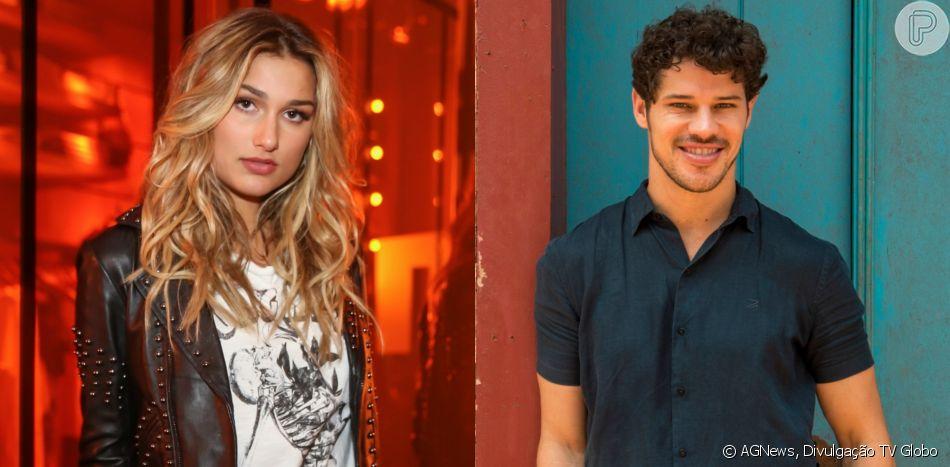 Sasha Meneghel e o ator José Loreto estão se conhecendo melhor