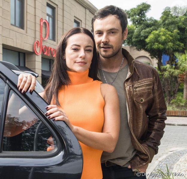 Nos próximos capítulos da novela 'A Dona do Pedaço', Vivi (Paolla Oliveira) vai terminar namoro com Chiclete (Sergio Guizé) quando ele revela ter sido contratado para matá-la