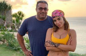 Pai de Anitta elogia Pedro Scooby em vídeo: 'Fez a poderosa largar os negócios'