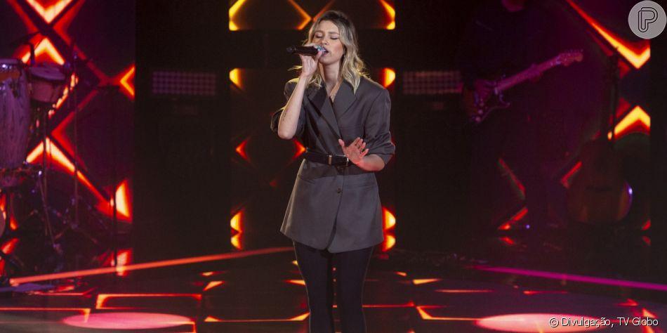 Cantora impressiona no 'The Voice Brasil' por semelhança com Sasha Meneghel