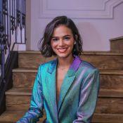 Bruna Marquezine explica falta de 'Parabéns' em festa: 'Não parei de dançar'