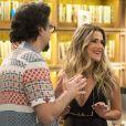 Nos próximos capítulos de 'Bom Sucesso', Silvana (Ingrid Guimarães) descobre que Paloma (Grazi Massafera) convenceu Alberto (Antonio Fagundes) a publicar seu livro.