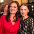 Que encontro! Adriana Esteves e Débora Falabella brilham em premiação de cinema