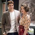 Josiane (Agatha Moreira) tem um caso com Régis (Reynaldo Gianecchini) em 'A Dona do Pedaço'