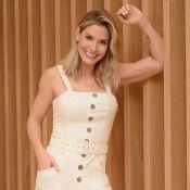 Andressa Suita exibe braço malhado e 'entrega' segredo: 'Levantamento de menino'