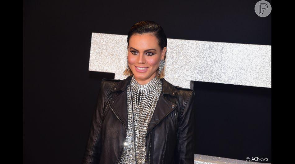 Letícia Lima prestigia lançamento da primeira loja da grife francesa no Brasil. O evento aconteceu no shopping Cidade Jardim, em São Paulo, na noite desta segunda-feira, 26 de agosto de 2019