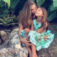 Grazi Massafera falou sobre a relação com a filha, Sofia, de 7 anos