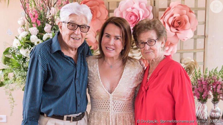 Zilu organiza festa para a mãe, Dona Fia, em aniversário de 85 anos neste domingo, dia 01 de setembro de 2019