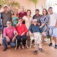 Zilu reuniu os irmãos em aniversário de 85 anos neste domingo, dia 01 de setembro de 2019
