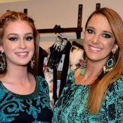 Marina Ruy Barbosa posa em casamento e gera dúvida em Tici Pinheiro: 'Grávida?'