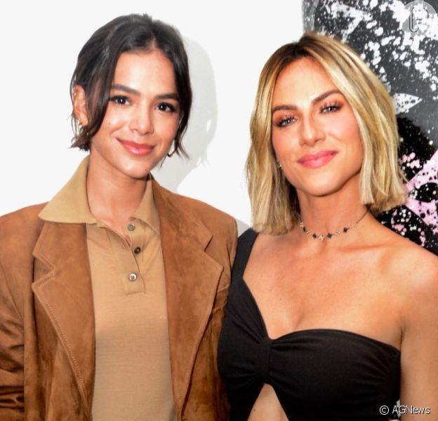Bruna Marquezine e Giovanna Ewbank visitaram um grupo de proteção ao animal neste domingo, 8 de setembro de 2019