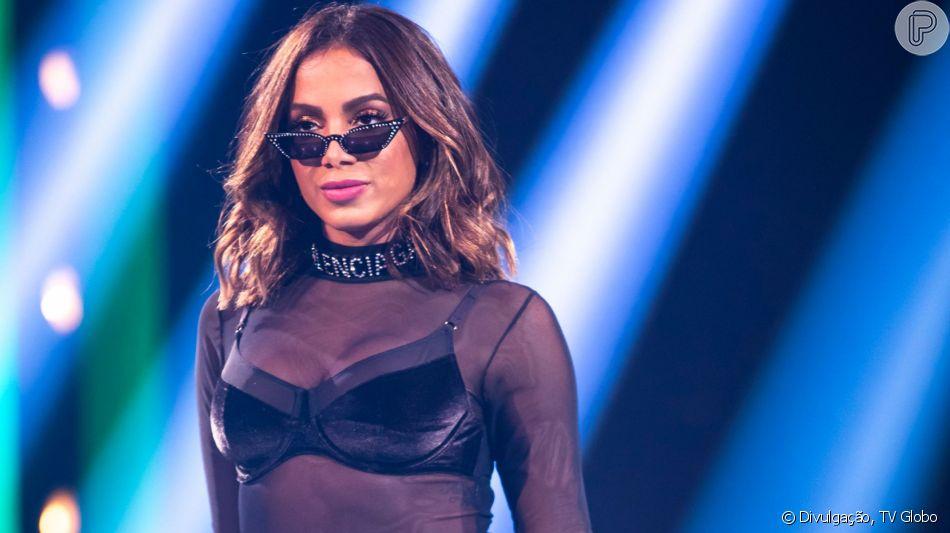 Anitta voltou as redes sociais após cancelar compromissos nesta terça-feira, 10 de setembro de 2019