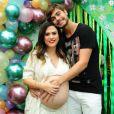 Tatá Werneck está grávida de uma menina no noivado com Rafael Vitti